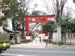 花園神社鳥居