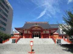 花園神社拝殿