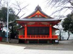 花園神社神楽殿