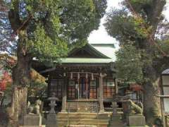 西向天神社拝殿