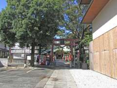 須賀神社鳥居