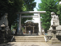 諏訪神社二鳥居