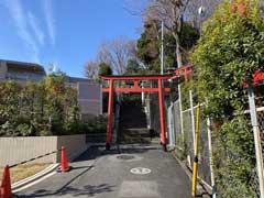 東山藤稲荷神社鳥居