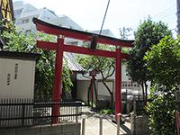 八兵衛稲荷神社鳥居