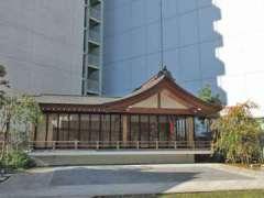 成子天神社神楽殿