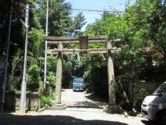 水稲荷神社鳥居