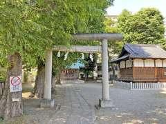 早稲田天祖神社鳥居
