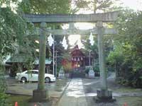 葛谷御霊神社鳥居