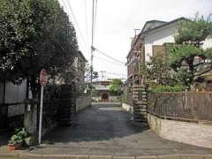 長源寺入口