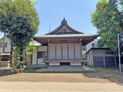 天沼八幡神社神楽殿