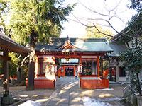 馬橋稲荷神社随神門