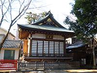 馬橋稲荷神社舞殿