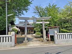 天沼稲荷神社鳥居