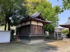 天沼稲荷神社神楽殿