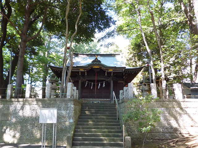 堀ノ内熊野神社 杉並区堀ノ内の...