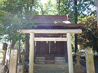 境内社稲荷神社第六天神社合殿