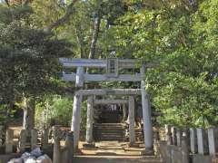 和泉熊野神社鳥居