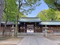 荻窪八幡神社神門