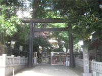 高円寺氷川神社鳥居