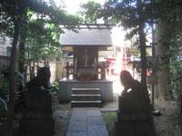 境内社御嶽神社・日枝神社・気象神社