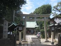 高円寺天祖神社鳥居
