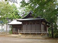久我山稲荷神社舞殿