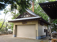 久我山稲荷神社神輿庫