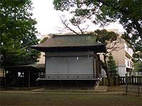 大宮前春日神社神楽殿