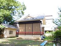 尾崎熊野神社神楽殿