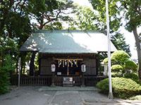 田端神社拝殿