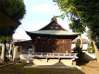 西高井戸松庵稲荷神社神楽殿