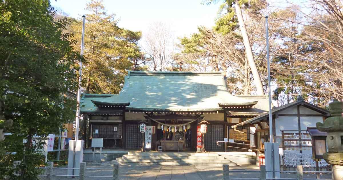 「八幡神社(東京都杉並区下高井戸4-39-3)」の画像検索結果