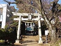 下高井戸八幡神社鳥居