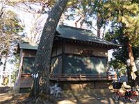 下高井戸八幡神社神楽殿