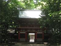 井草八幡宮楼門