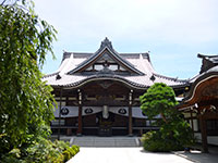 立法寺本堂