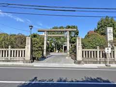 小村井香取神社鳥居