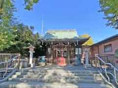 小村井香取神社拝殿