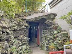 江島杉山神社岩窟