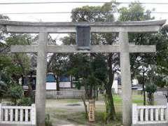 東墨田白髭神社鳥居