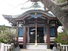 東墨田白髭神社拝殿