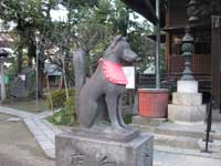 三囲神社の狛犬
