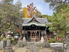 三囲神社隅田川側の鳥居