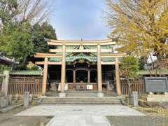牛島神社拝殿