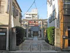 押上天祖神社参道と鳥居