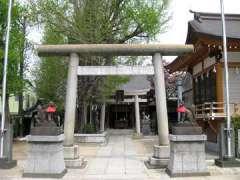 飛木稲荷神社鳥居