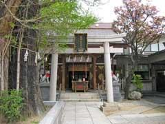 飛木稲荷神社拝殿