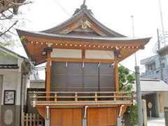 飛木稲荷神社神楽殿