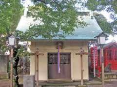 吾嬬神社拝殿