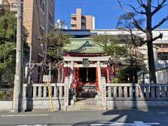 元徳稲荷神社拝殿